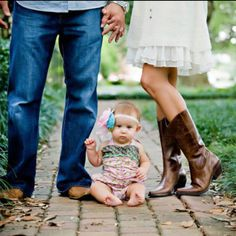 So cute --  I don't think I would be able to get Harper to sit still like this though! Ha.