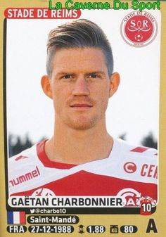 377-GAETAN-CHARBONNIER-STADE-REIMS-SO-Chatellerault-STICKER-PANINI-FOOT-2016