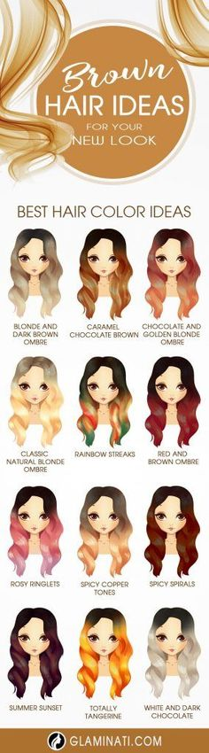 Charming and Chic Options for Brown Hair with Highlights