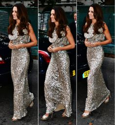 middletonroyalty:  Duchess of Cambridge dressed in a Jenny Packham dress with Jimmy Choo Vamp heels and wearing a diamond flower cluster art-deco bracelet and diamond drop earrings.