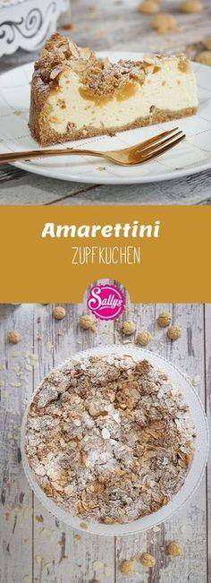 Leckerer Zupfkuchen gefällig? Dann probiere doch mal meine Variante mit Amarettini Keksen und Aprikosen aus. Super einfacher Kuchen, da der Teig sowohl für den Boden, als auch für die Streusel dient und alle Zutaten im Handumdrehen verrührt sind. #amarettini #kuchen #cake