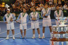 23/11/2008 Argentina pierde la final de la Copa Davis en Mar del Plata ante España (Sin Nadal). El último punto lo juega Acasuso, que cae 6-3 6-7 4-6 6-3 y 6-1 ante Verdasco.