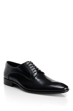 Leather Lace-Up 'Carmons' Dress Shoe, Black