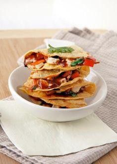 Chicken Recipe : BBQ Chicken Quesadillas