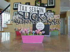 TAx season gift for accountants