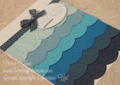 Stampin' Up! Ombre Card maybe in corals , pinks, or squad for the wedding @Michelle Flynn Remely