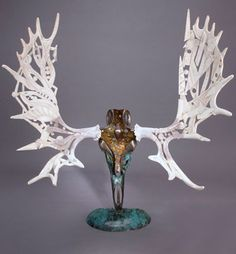 Shane Wilson's Gaia Moose Skull Creation: http://skullappreciationsociety.com/shane-wilsons-gaia-moose-skull-creation/ via @Skull_Society