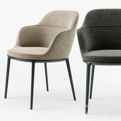 3d models: Chair - Maxalto Caratos chair