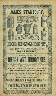 antique medicines