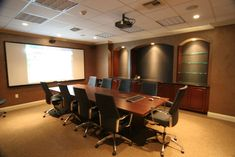 audio room with Audio Video Design and Installation by Cinemagic Ent. Conference Room Design, Conference Room Chairs, Law Office Design, Office Interior Design, Home Theater Setup, Home Theater Seating, Movie Theater, Audio Room, Corporate Interiors