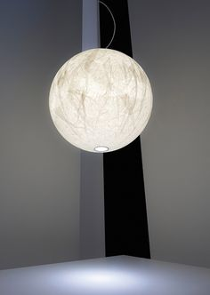 Download the catalogue and request prices of Moon by Davide Groppi, japanese paper pendant lamp design Davide Groppi