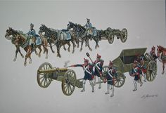 French artillery.  Click on image to ENLARGE.