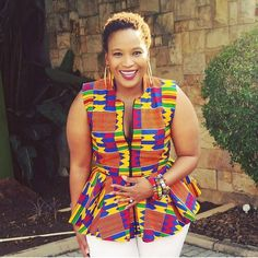 African Print Dresses and Styles that will trend in 2018 African Tops, African Shirts, African Dresses For Women, African Print Dresses, African Print Fashion, African Attire, African Wear, Fashion Prints, African Clothes