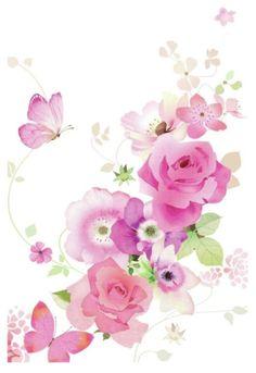 Lynn Horrabin - Floral Spray-Butterflies