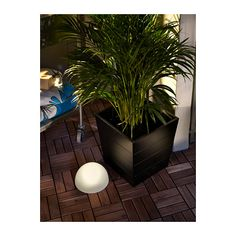 GRÄSET Plant pot IKEA Galvanized for rust resistance. Weather-resistant and durable. $40