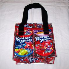 Etsy Fun Eco Friendly Lunch Bag made with by GreenDesignsByLisa, $16.00