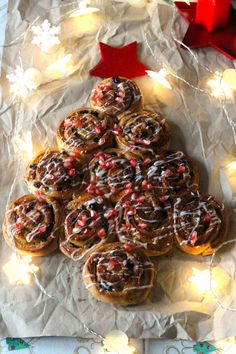 As Minhas Receitas: Caracois Doces de Natal (e a Missão Continente)