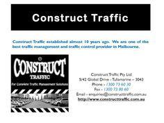 Traffic Control And Traffic Management Services In Melbourne