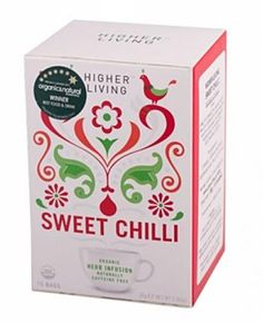 Herbata Sweet Chilli (15 saszetek, 30 g) - Higher Living