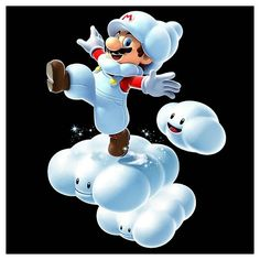 mario cloud guy coloring pages - photo#34