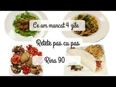 Ep 4 /Ce mananc in 4 zile de Rina/ Retete dieta Rina 90 / Dieta Rina/ What i eat to lose weight - Cómo vivir una vida más saludable 2020 Rina Diet, Metabolism, Lose Weight, Beef, Youtube, Diets, Salads, Health, Bed Room