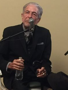 """Thanks to Andreas Renner on twitter. Leonard Cohen about Dylan's Nobel Prize: """"It's like pinning a medal on Mount Everest for being the highest mountain"""""""