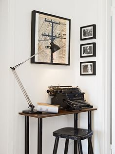 It would be so much fun to write my stories on a typewriter!