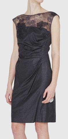 Valentino Grey Dress