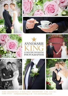 Wedding at Sledmere House by Annemarie King, York