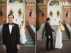 Mississippi wedding photography at First Presbyterian Church in Oxford MS