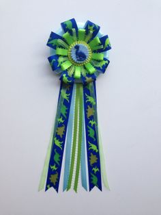 Dinosaurs Theme Baby Shower Corsage ....Baby by LezlieZDesigns,