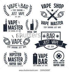Shop http://BesteCigMade.com for the best Vaping products! Vape Shop Stock Images - Vape Logos @ Shutterstock