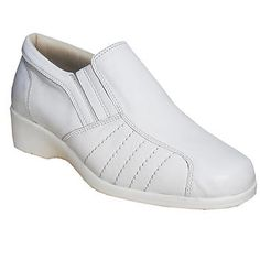 Medikal Diyabet Ayakkabısı Bayan Beyaz OD04B Online Siparişi Ortopedikterlik.com 'da Kargo Bedava White Leather Shoes, Super White, Slip On, Nurses, Sneakers, Model, Illustrations, Photos, Fashion