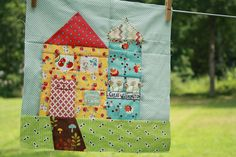 Charise's House for cocorico bee  by Erin @ Why Not Sew? Quilts, via Flickr