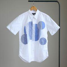 P/W Short Sleeve Shirt #white