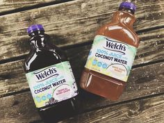 AD Welch's new juice is so amaizing! The flavor of coconut water with berries It's absolute incredible!