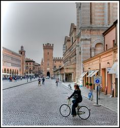 Castello Estense, Ferrara, Italy  where tommy was stationed i spent my summer there with him <3