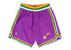 1993-94 Authentic Shorts Utah Jazz