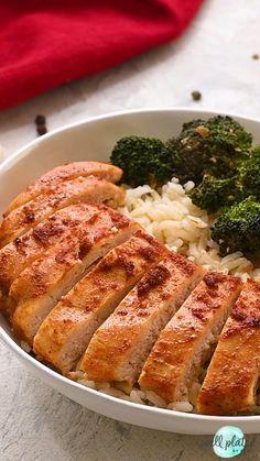 Juicy Baked Chicken, Healthy Baked Chicken, Chicken Breast Recipes Healthy, Baked Chicken Breast, Chicken Breasts, Different Chicken Recipes, Amazing Food Videos, Sweet Potato Recipes Healthy, Recipe Videos