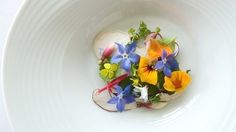 Salade de fleurs fraiches