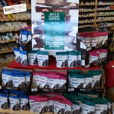 #SPOTTED: #barkTHINS at Baron's Marketplace in San Diego, CA! #snackingchocolate #nongmo #fairtrade #darkchocolate #baronsmarketplace