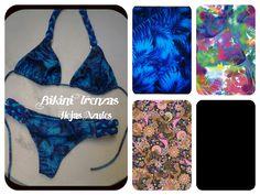 Bikini Trenzas Corpiño triangulito + Colaless Estampados disponibles