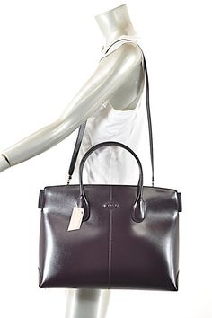 effe8ef608d Bauletto Wine Leather Satchel. Tradesy