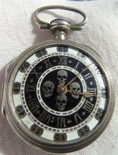 Antique Skull Watch - Obsessed With SkullsObsessed With Skulls