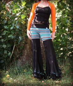 Fynn Dance Pants With Flared Bell Bottoms by DewdropzGarden, $61.00