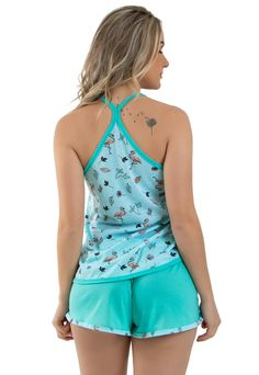 Babydoll, Womens Pyjama Sets, Sleep Shirt, Nightwear, Bikini Set, Pajama Set, Tankini, Ideias Fashion, Sexy Women