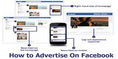 How to Advertise On Facebook - Facebook Advertisements - Tecteem About Facebook, How To Use Facebook, Business Pages, Business Tips, Advertise Your Business, Happy Reading, Target Audience, Web Browser, My Face Book