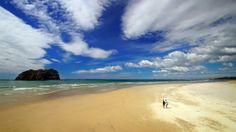 Papamoa, Tauranga, New Zealand Mount Maunganui, Ill Fly Away, I Coming Home, Blue Beach, Turks And Caicos, Beautiful Beaches, To Go, Relax, Ocean