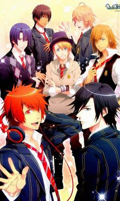 Uta no Prince-sama! :D Love 'em all, except for Cecil.... I never liked Cecil :/ (of course, I never really liked the second season, which was where Cecil was fully introduced)