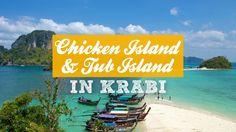 Chicken Island and Tub Island in Krabi – a day trip #Thailand